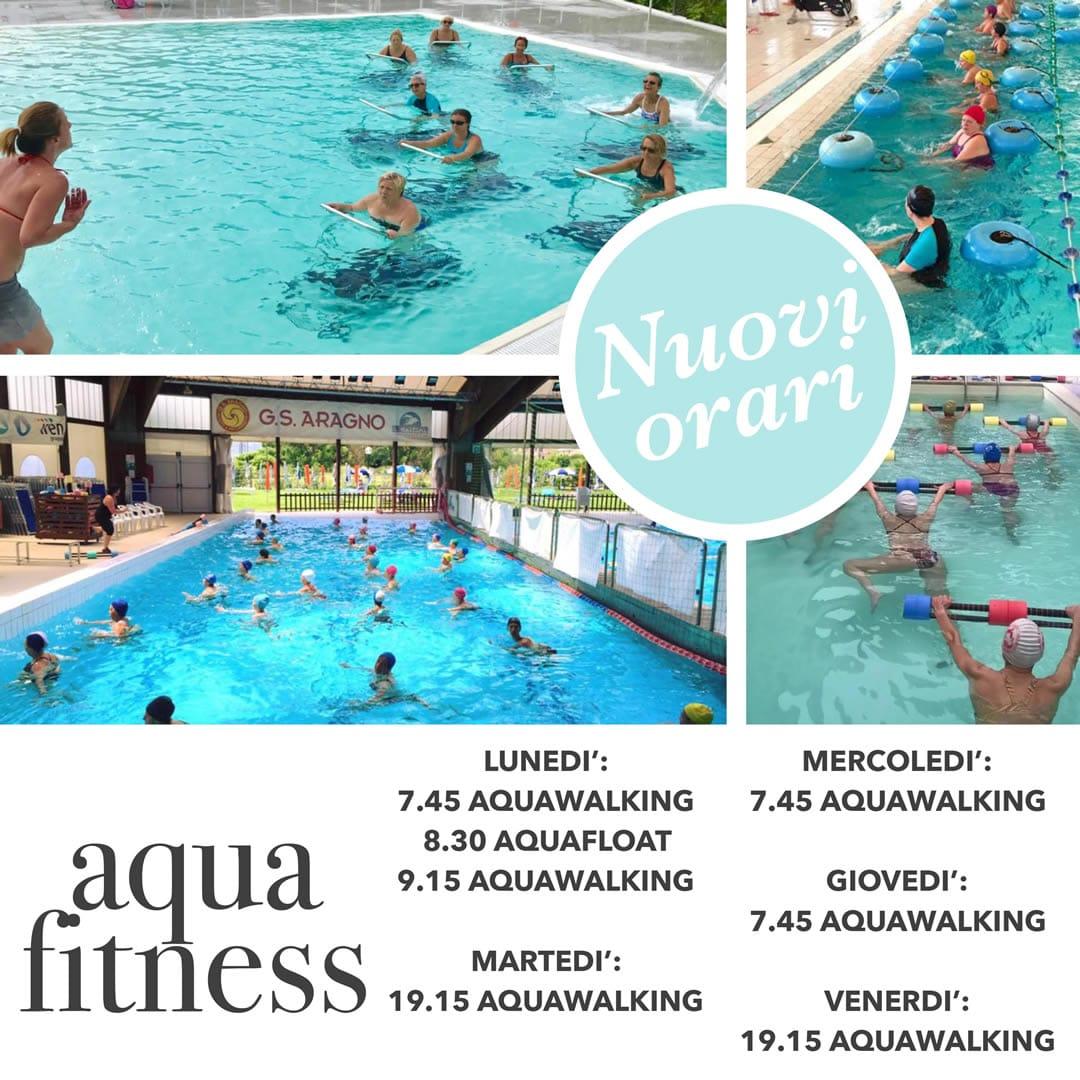 Orario aqua fitness